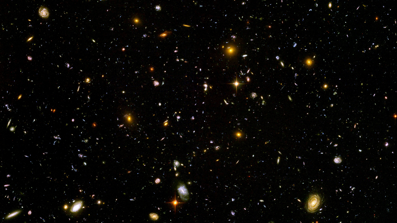 hubble deep field hd wallpaper - photo #1